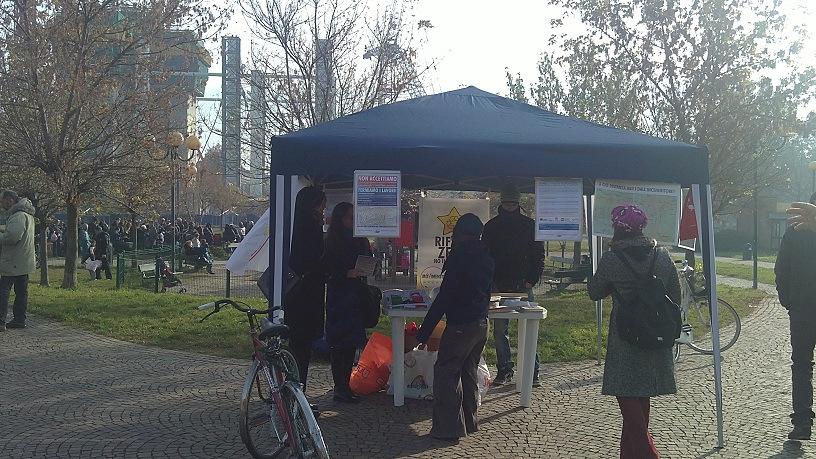 Banchetto giardini Grosa 19/11/2011